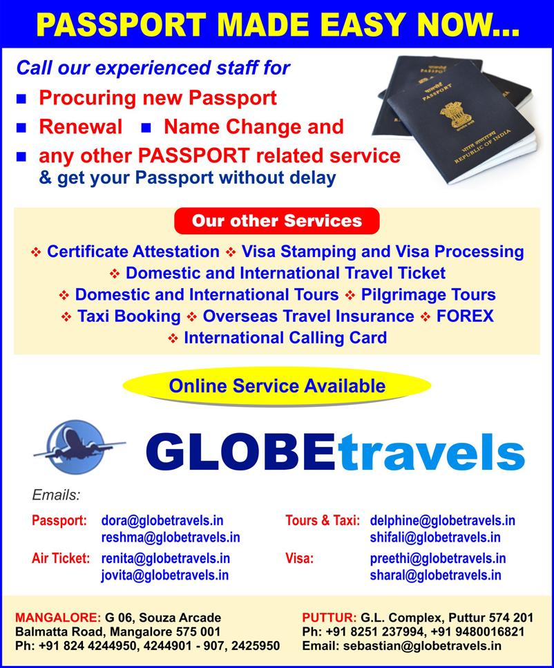 Globe Travels Advt